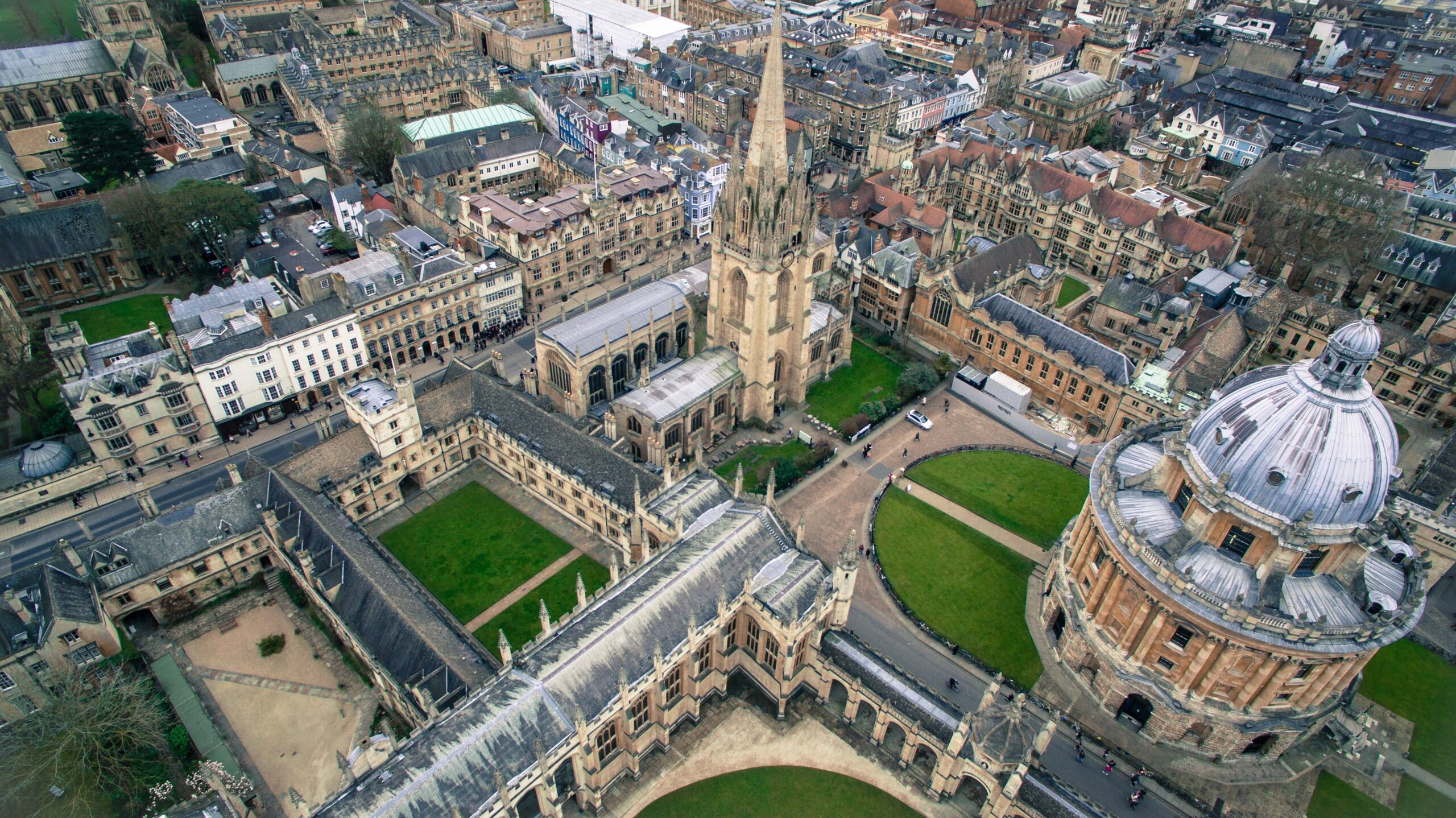 The City of Oxford from Above